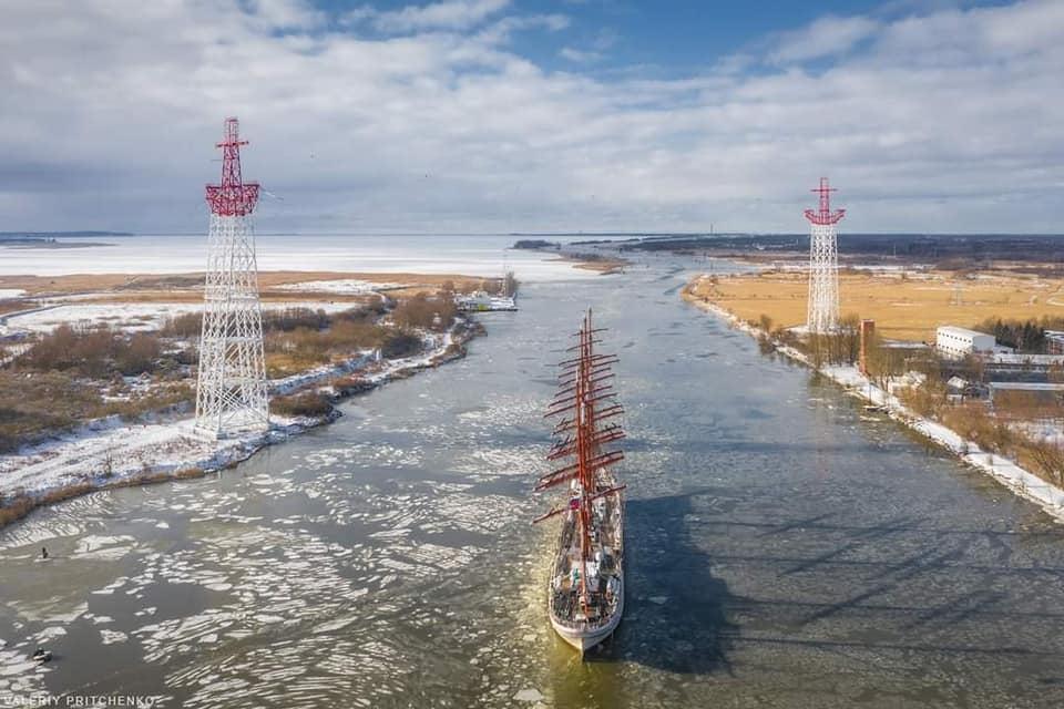 «Седов» следует в док города Светлый на плановый ремонт