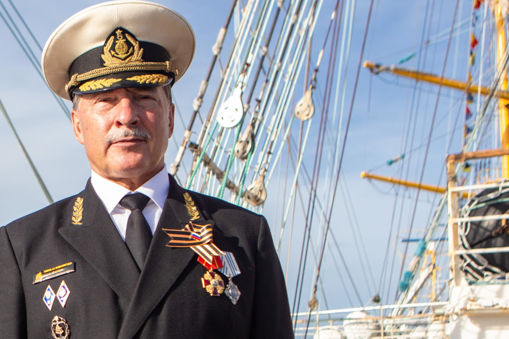 Капитан «Паллады» Николай Кузьмич Зорченко: «Главное — хорошо делать свою морскую работу»